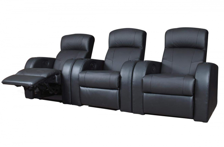 Cyrus Home Theater Seating Set 1 - Coaster