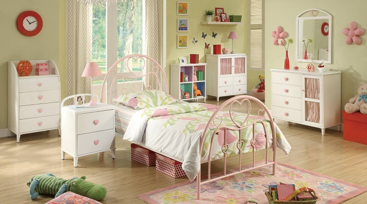 Juliette Bedroom Set - White