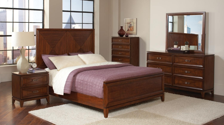 Katharine Bedroom Set - Oak