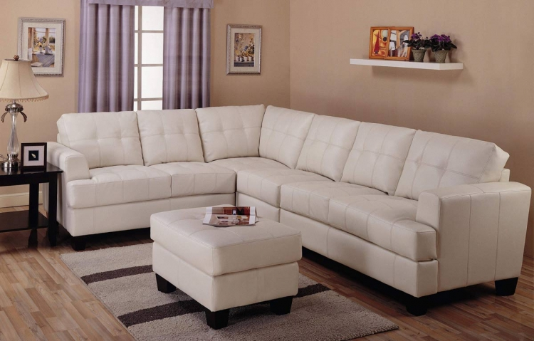 Samuel Sofa Sectional Set - Cream - Coaster