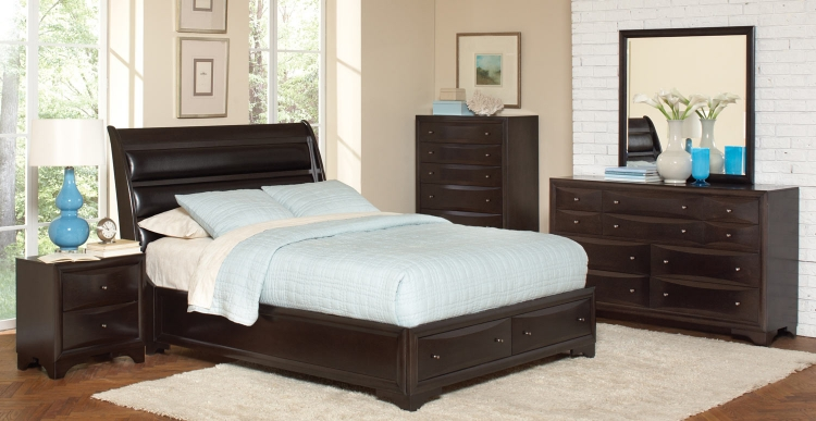 Webster Bedroom Set - Maple