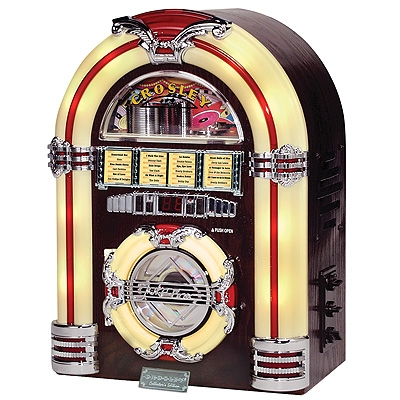 Jukebox CD-Walnut - Crosley