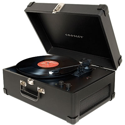 The Keepsake USB Turntable-Black