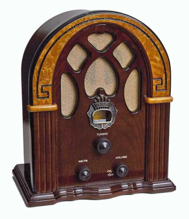 Companion Tabletop Radio - Walnut - Crosley