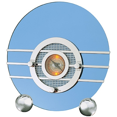 Blue Bird Radio - Blue Mirror - Crosley