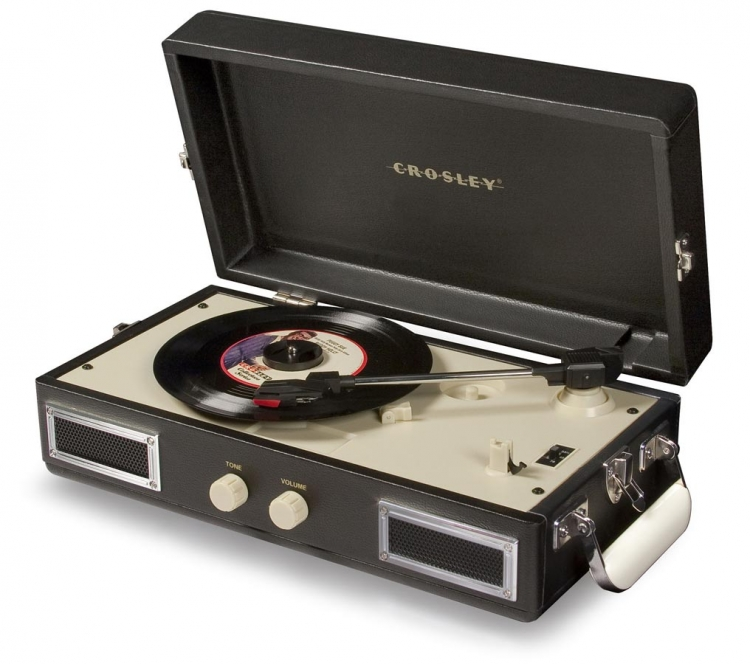 Mini-Turntable - Black - Crosley