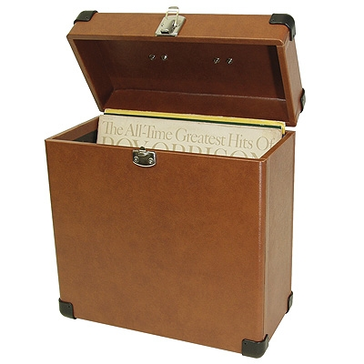 Record Carrier Case-Tan - Crosley