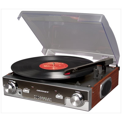 Tech Turntable - Mahogany - Crosley