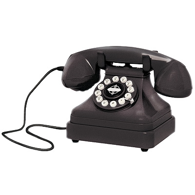 Kettle Classic Desk Phone-Black - Crosley