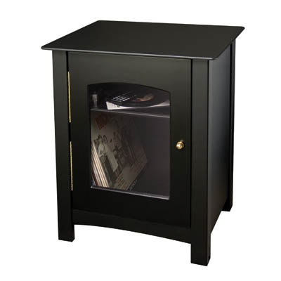 Bardstown Entertainment Center Stand - Black - Crosley
