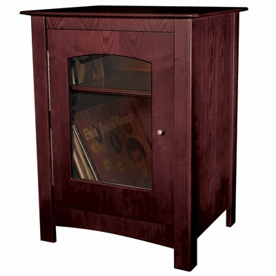 Williamsburg Entertainment Center Stand-Cherry - Crosley