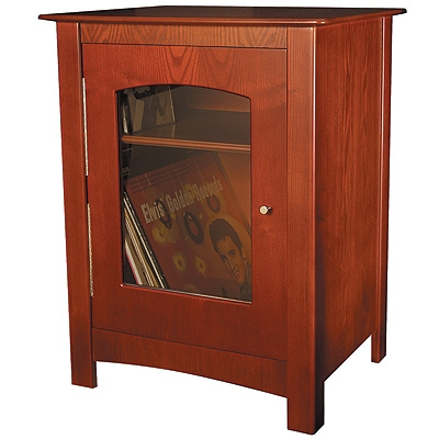 Williamsburg Entertianment Center Stand-Paprika - Crosley