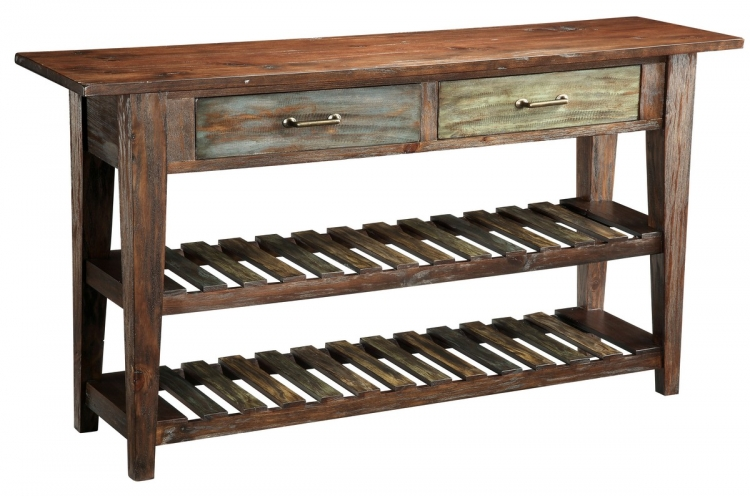 46226 2 Drawer Console Table