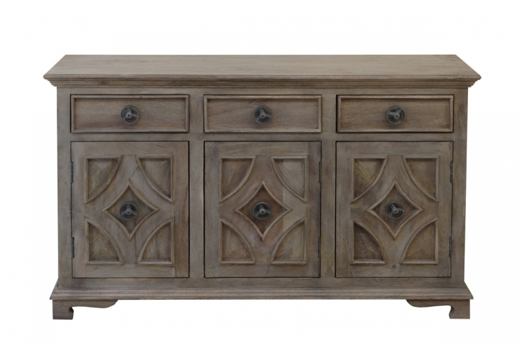 63143 Three Drawer Three Door Sideboard
