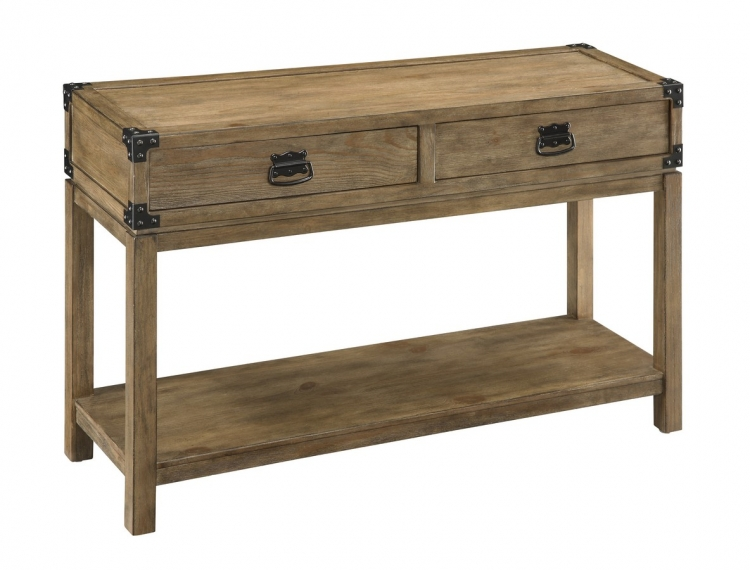 67458 Two Drawer Console Table