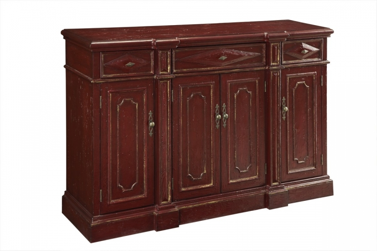 67501 Three Drawer Four Door Credenza