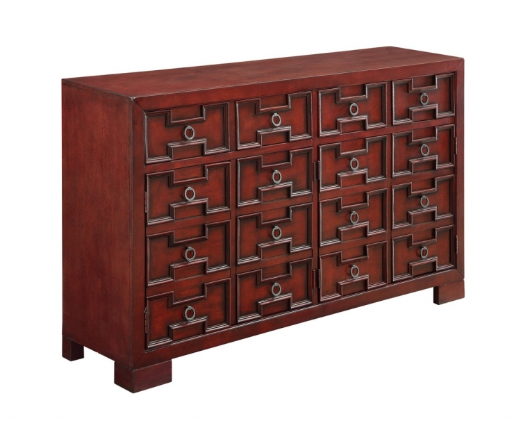 70714 Four Door Two Drawer Media Credenza