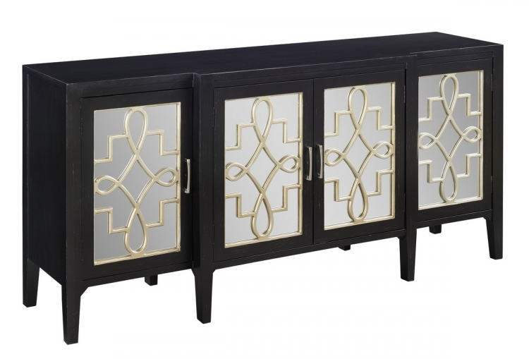 70756 Four Door Media Credenza