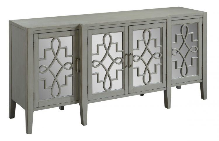 70757 Four Door Media Credenza
