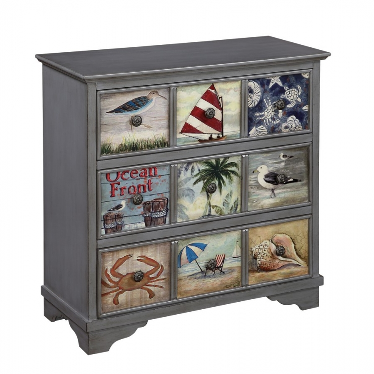 70772 Three Drawer Chest