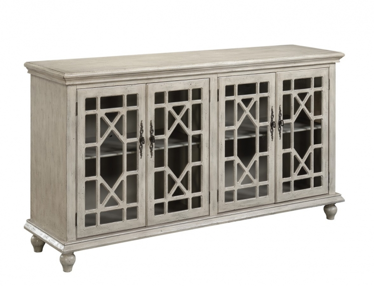 70829 Four Door Media Credenza