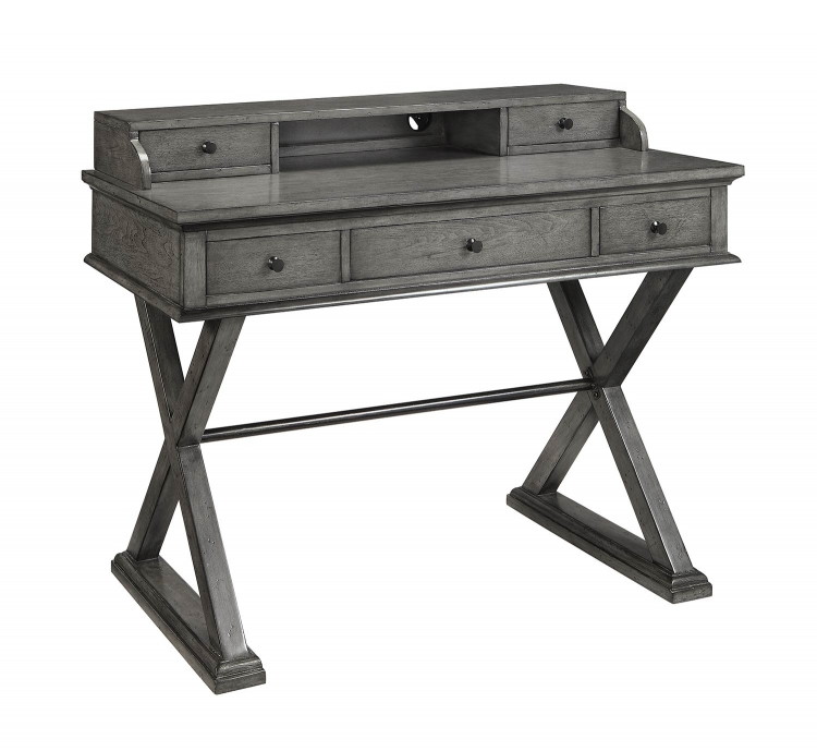 78605 Five Drawer Desk