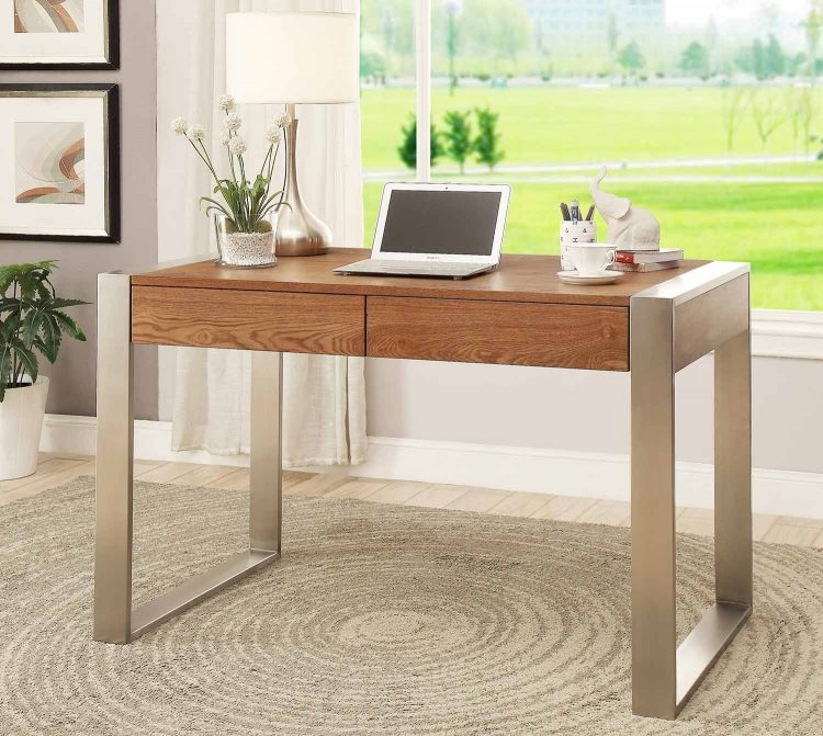 78646 Two Drawer Writing Desk