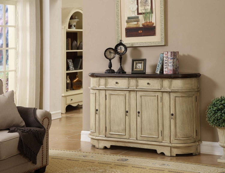 78713 Two Drawer With Four Door Credenza