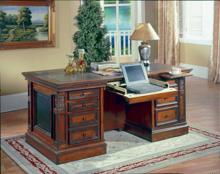 DaVinci Library Executive Desk-Parker House