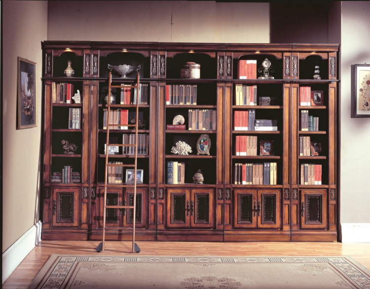 DaVinci Library Bookcases-Parker House