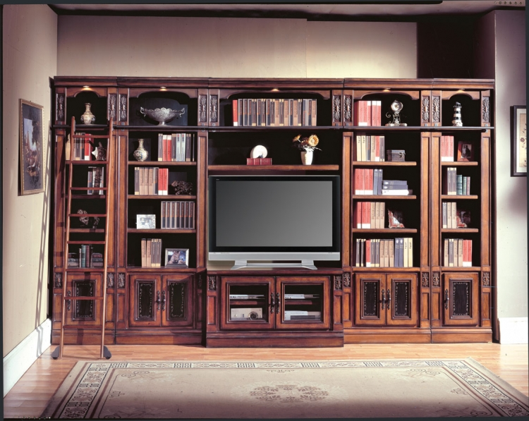 DaVinci Library Entertainment Wall Unit - 60in-Parker House