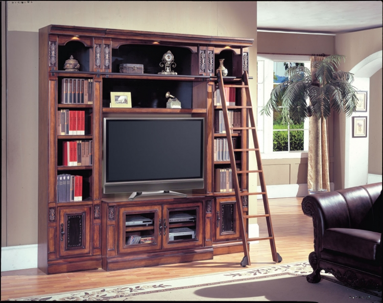 DaVinci Library Entertainment Set - 60in-Parker House