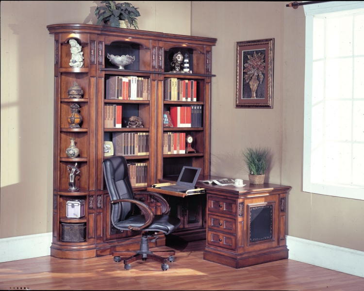 DaVinci Corner Home Office-Parker House