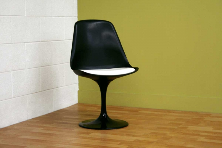 DC-211B Black Accent Chair - Wholesale Interiors