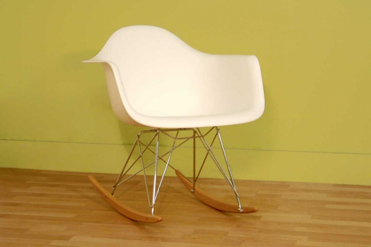 DC-311W White Accent Chair