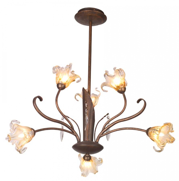Bloom 6Lt Chandelier-ET2
