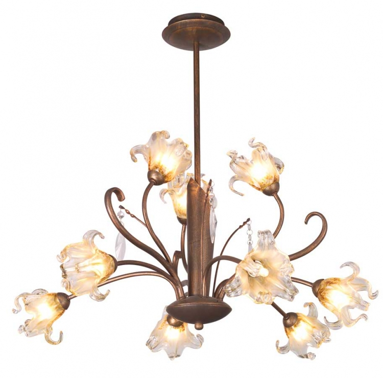 Bloom 9Lt Chandelier