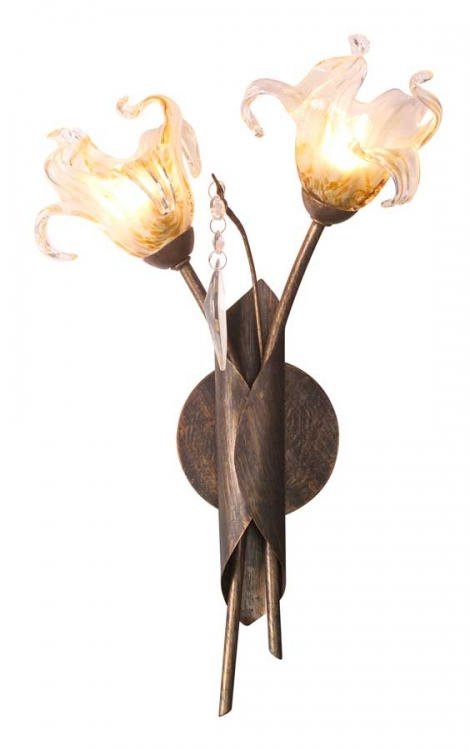 Bloom 2Lt Wall Sconce