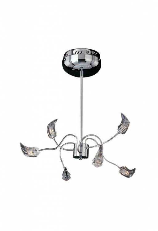 Ice 6Lt Chandelier-ET2