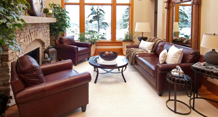 Manchester 3-Piece Top Grain Leather Collection - Barolo