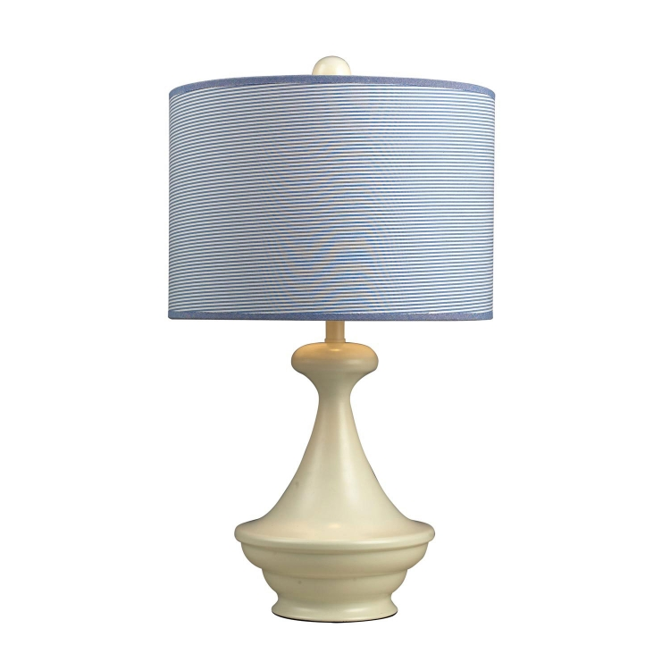 111-1090 Edgewood Shore Table Lamp - Antique White