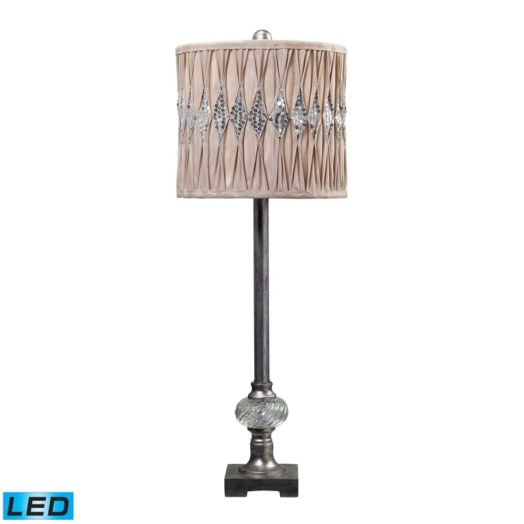 113-1125-LED Bayview Manor Buffet Lamp - Cisco Silver - Elk Lighting