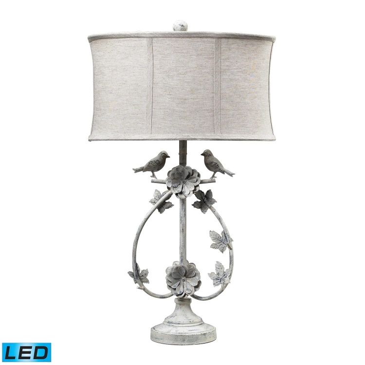 113-1134-LED Saint Louis Heights Table Lamp - Antique Whte - Elk Lighting