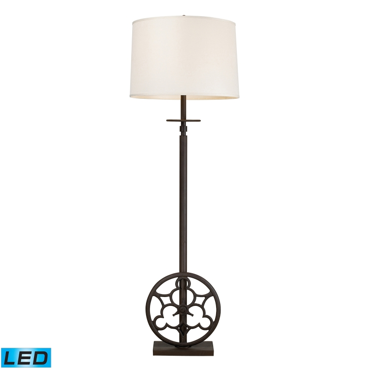 65113-4-LED Ironton Floor Lamp - Vintage Rust