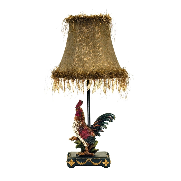 7-208 Petite Rooster Table Lamp - Ainsworth