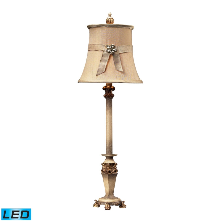 93-10001-LED Syracuse Table Lamp - Sussex Stone with Gold - Elk Lighting
