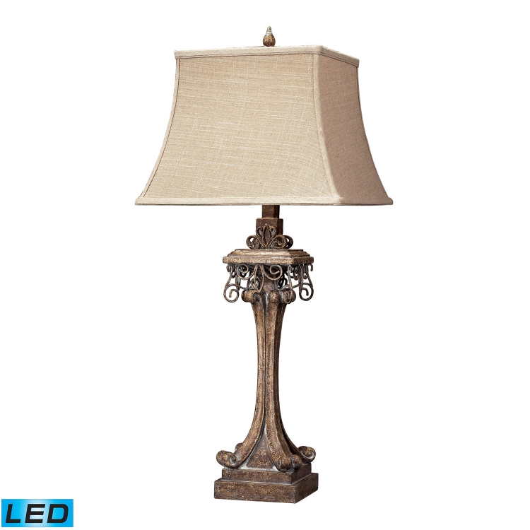 93-10015-LED Stanton Table Lamp - Corbel