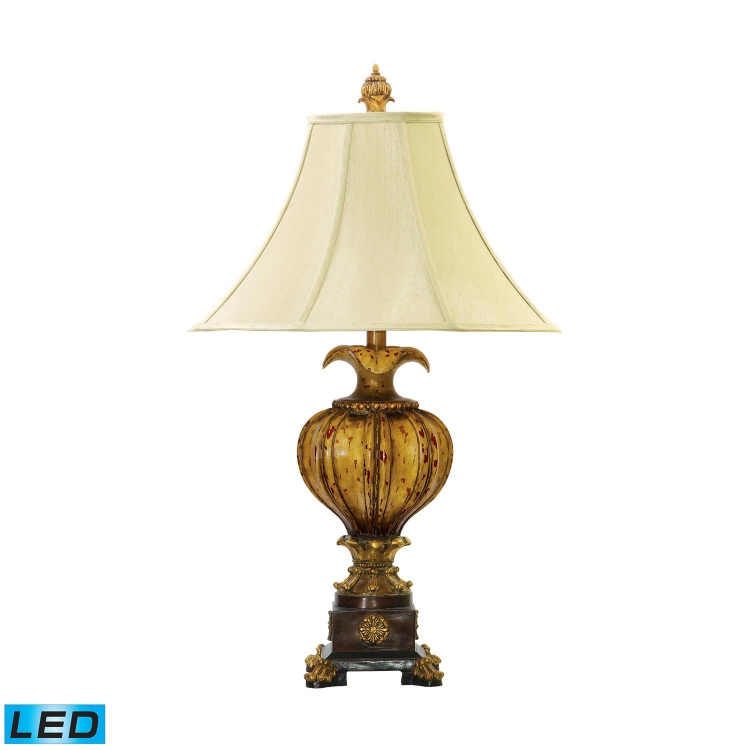 93-449-LED Leaf Footed Urn Table Lamp