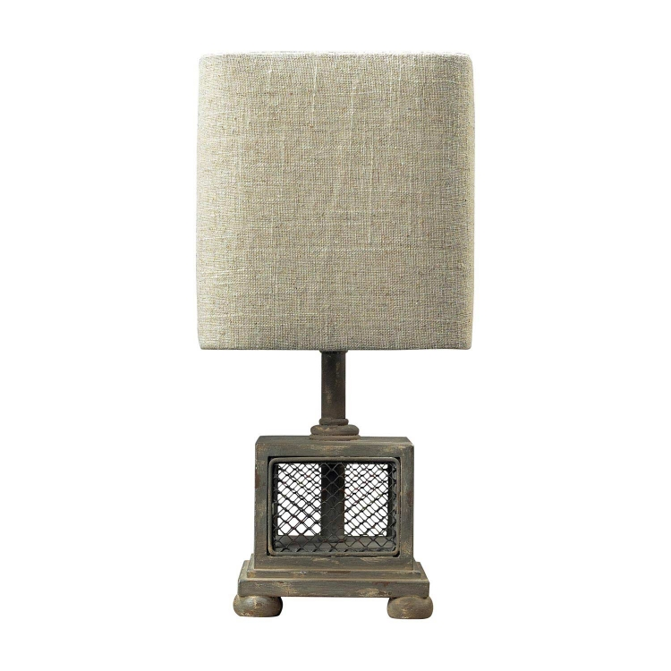 93-9150 Delambre Mini Lamp - Montauk Grey