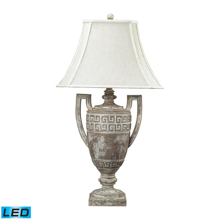 93-9197-LED Greek Key Table Lamp - Allesandria